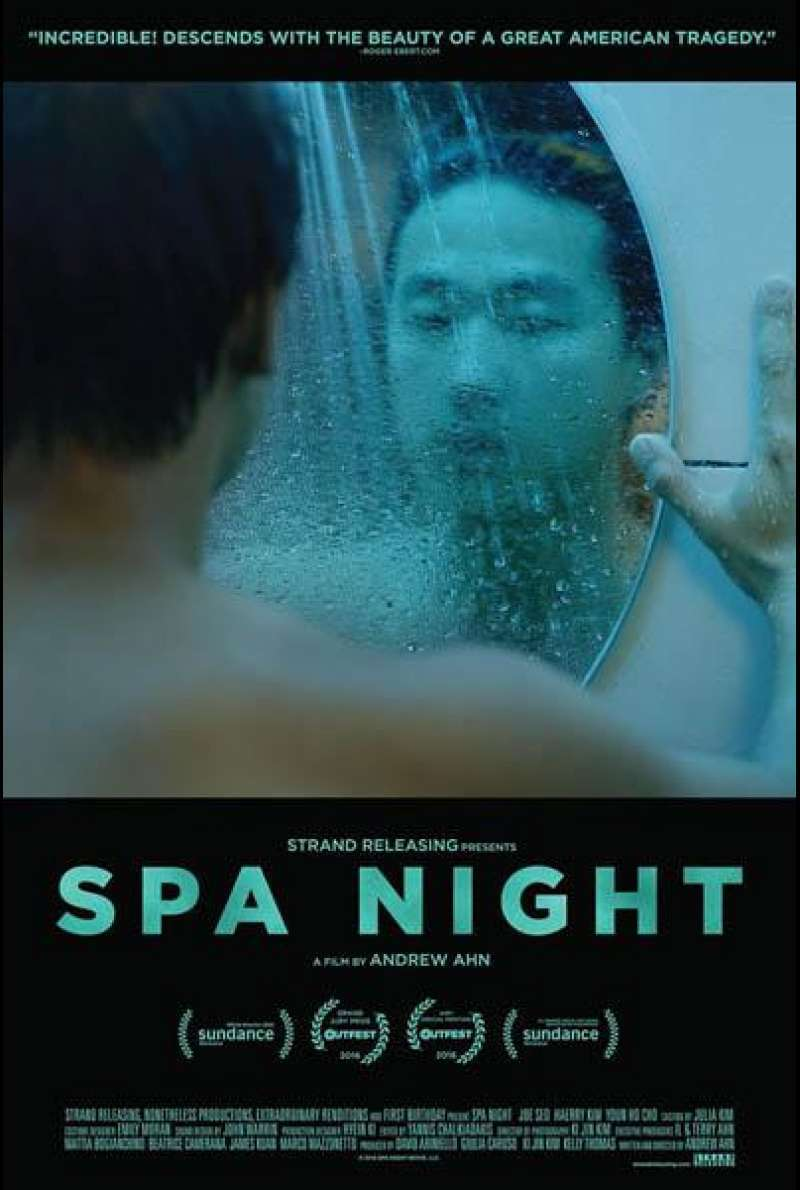 Spa Night von Andrew Ahn - Filmplakat