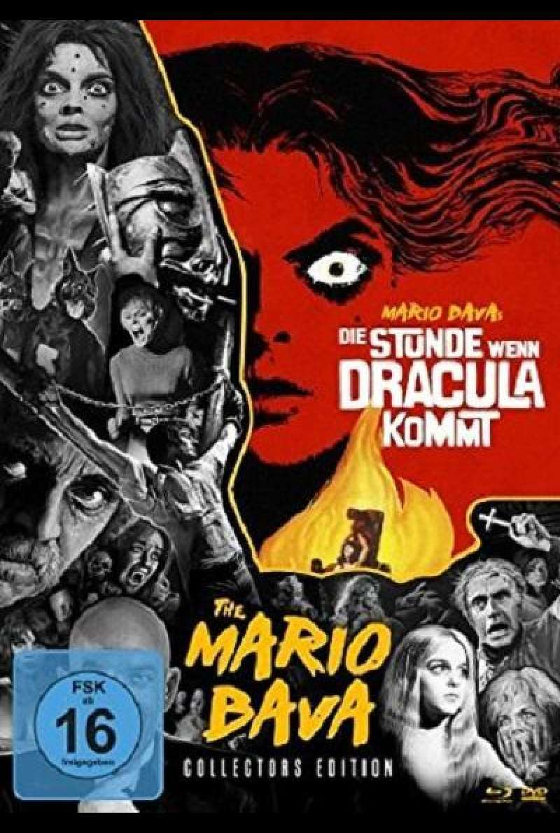 Die Stunde, wenn Dracula kommt - Mario Bava-Collection #1 - Blu-ray-Cover