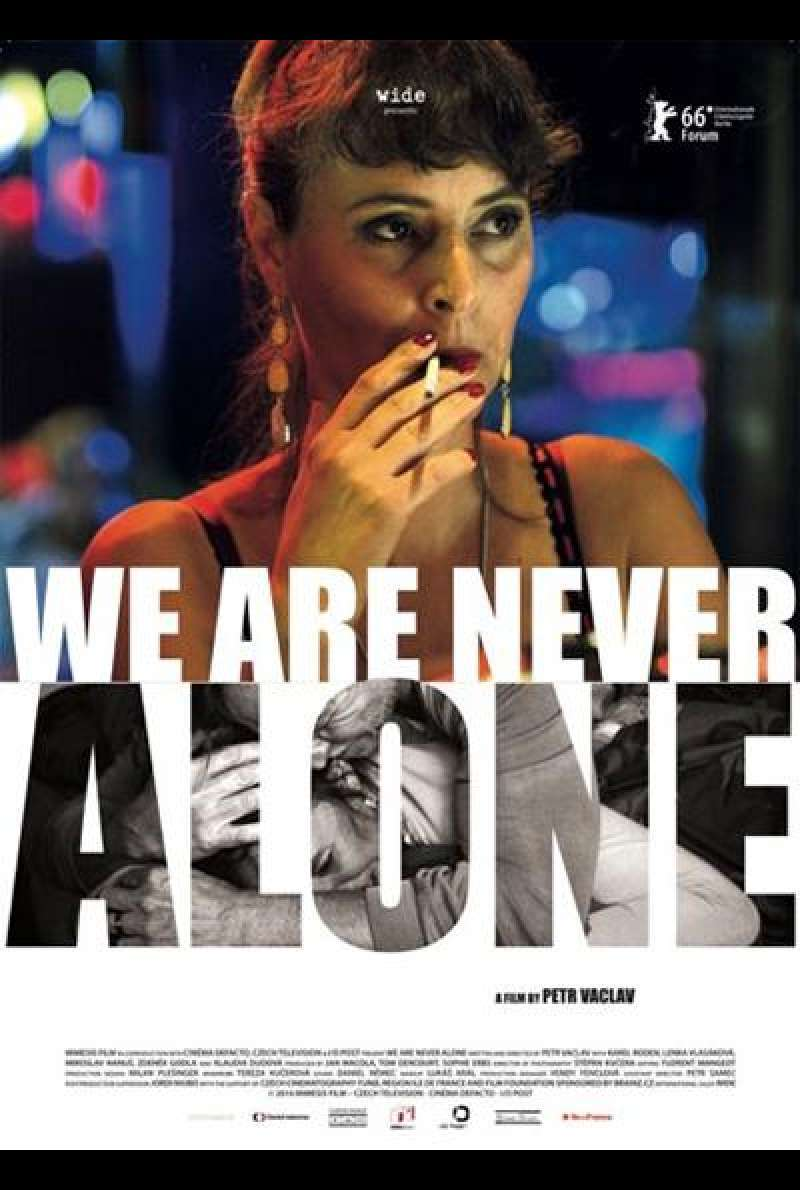 We Are Never Alone von Petr Vaclav - Filmplakat