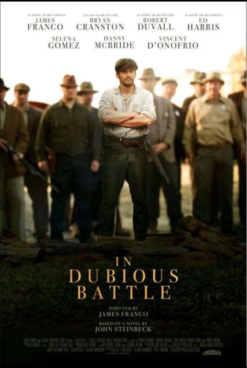 In Dubious Battle - Von James Franco - Filmplakat