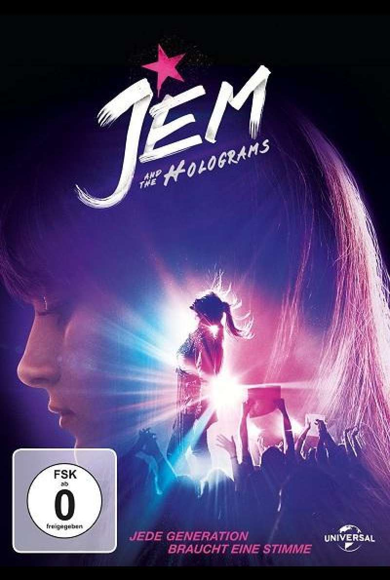 Jem and the Holograms - DVD-Cover