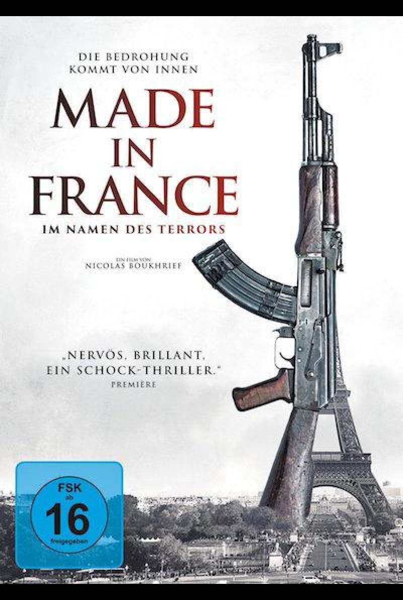 Made in France - Im Namen des Terrors - DVD-Cover