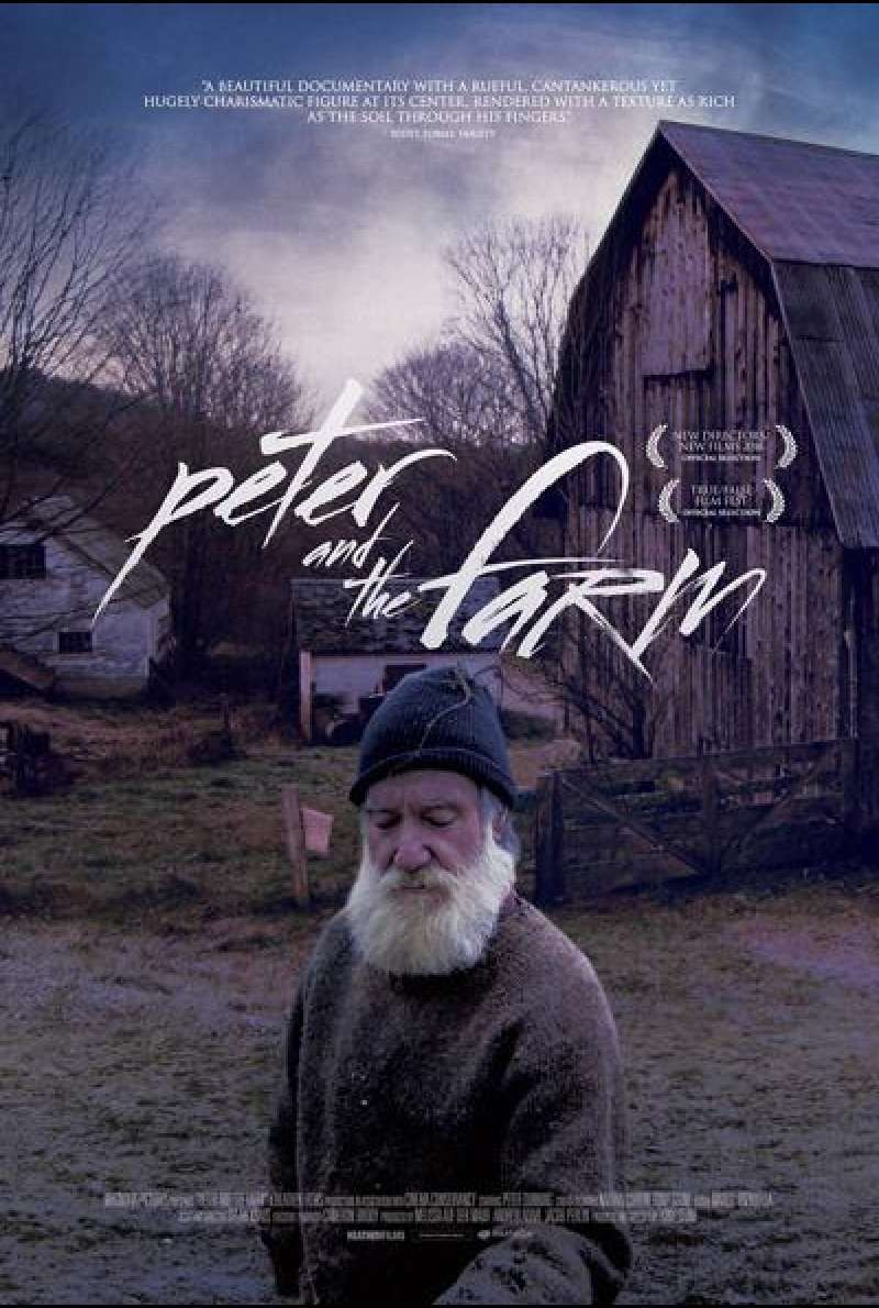 Peter and the Farm von Tony Stone - Filmplakat
