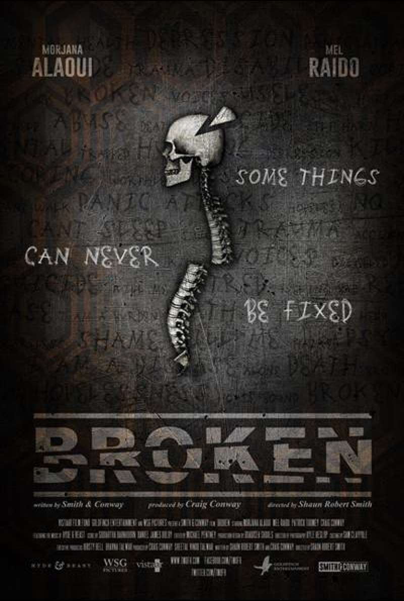 Broken von Shaun Robert Smith - Filmplakat