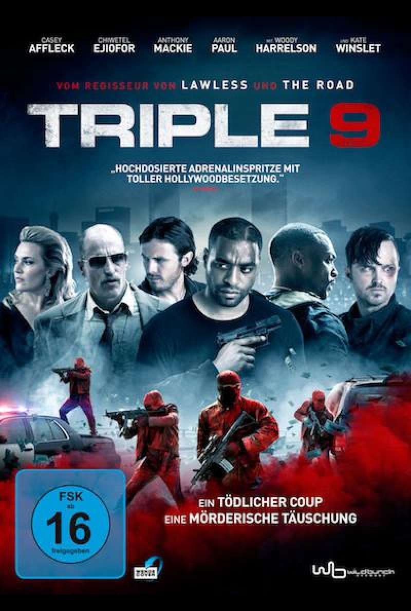 Triple 9 - DVD-Cover