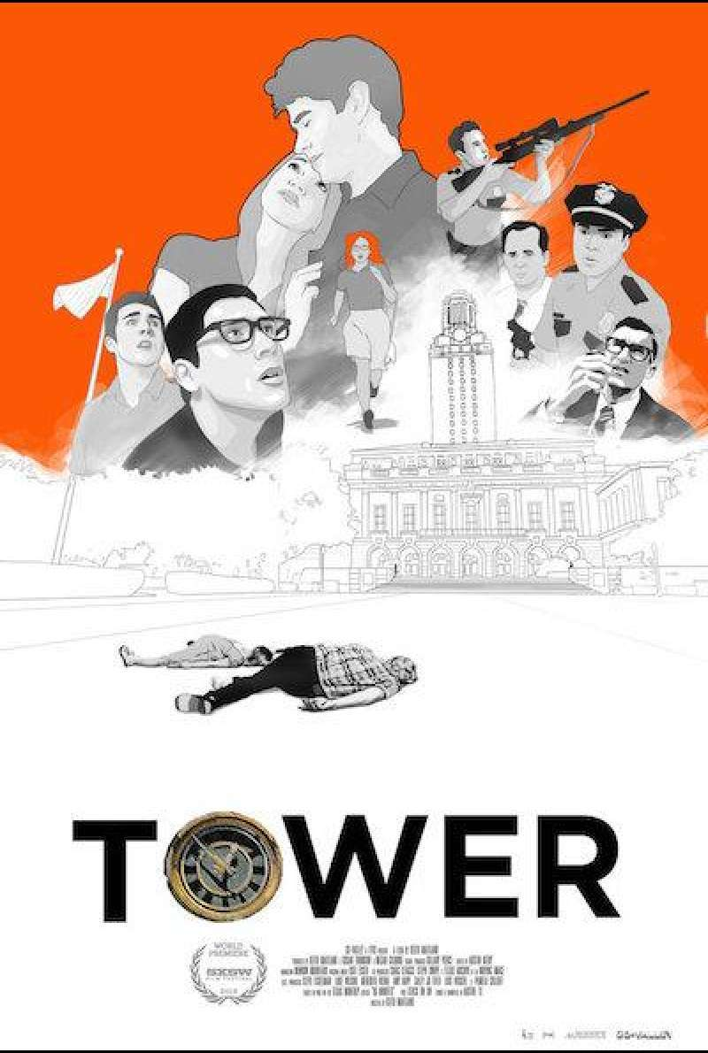 Tower (2016) von Keith Maitland - Filmplakat (US)