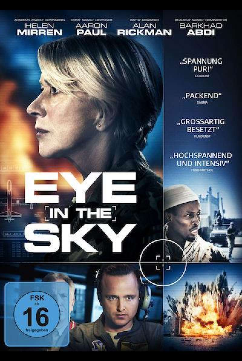 Eye in the Sky von Gavin Hood - DVD Cover
