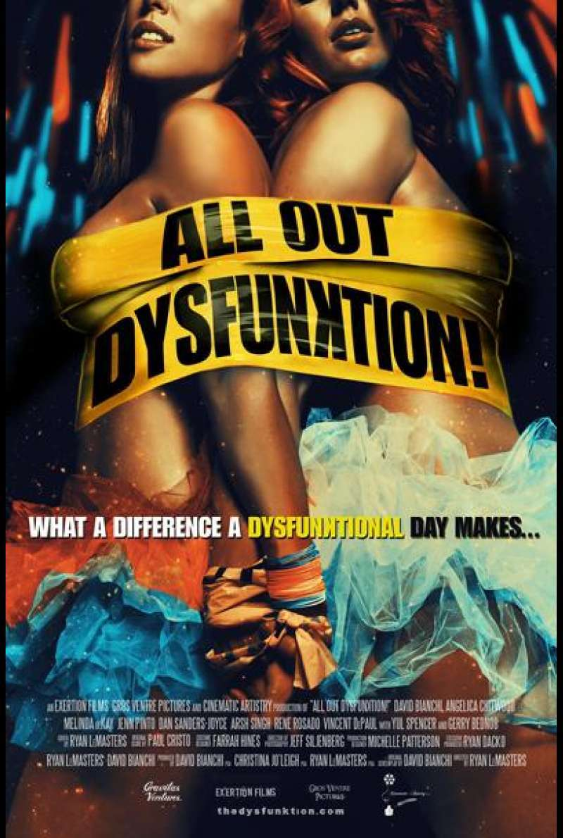All Out Dysfunktion! von Ryan LeMasters - Filmplakat