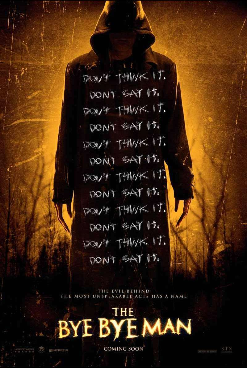 The Bye Bye Man von Stacy Title - Filmplakat