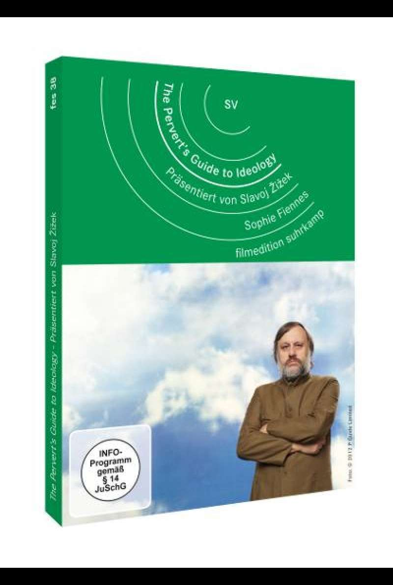The Pervert's Guide to Ideology  von Sophie Fiennes - DVD-Cover