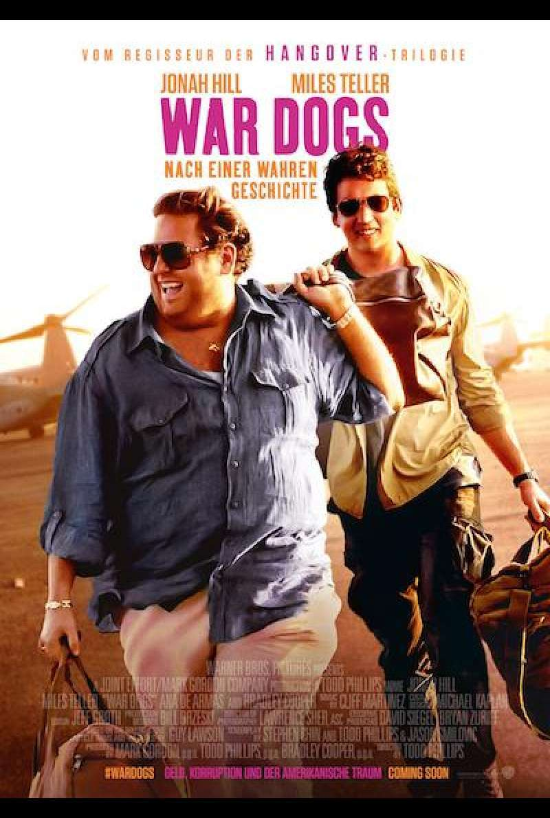 War Dogs von Todd Phillips - Filmplakat