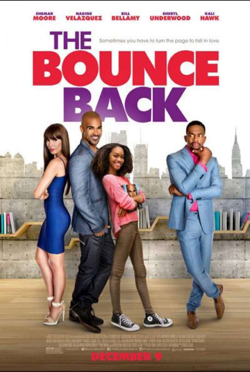 The Bounce Back von Youssef Delara - Filmplakat