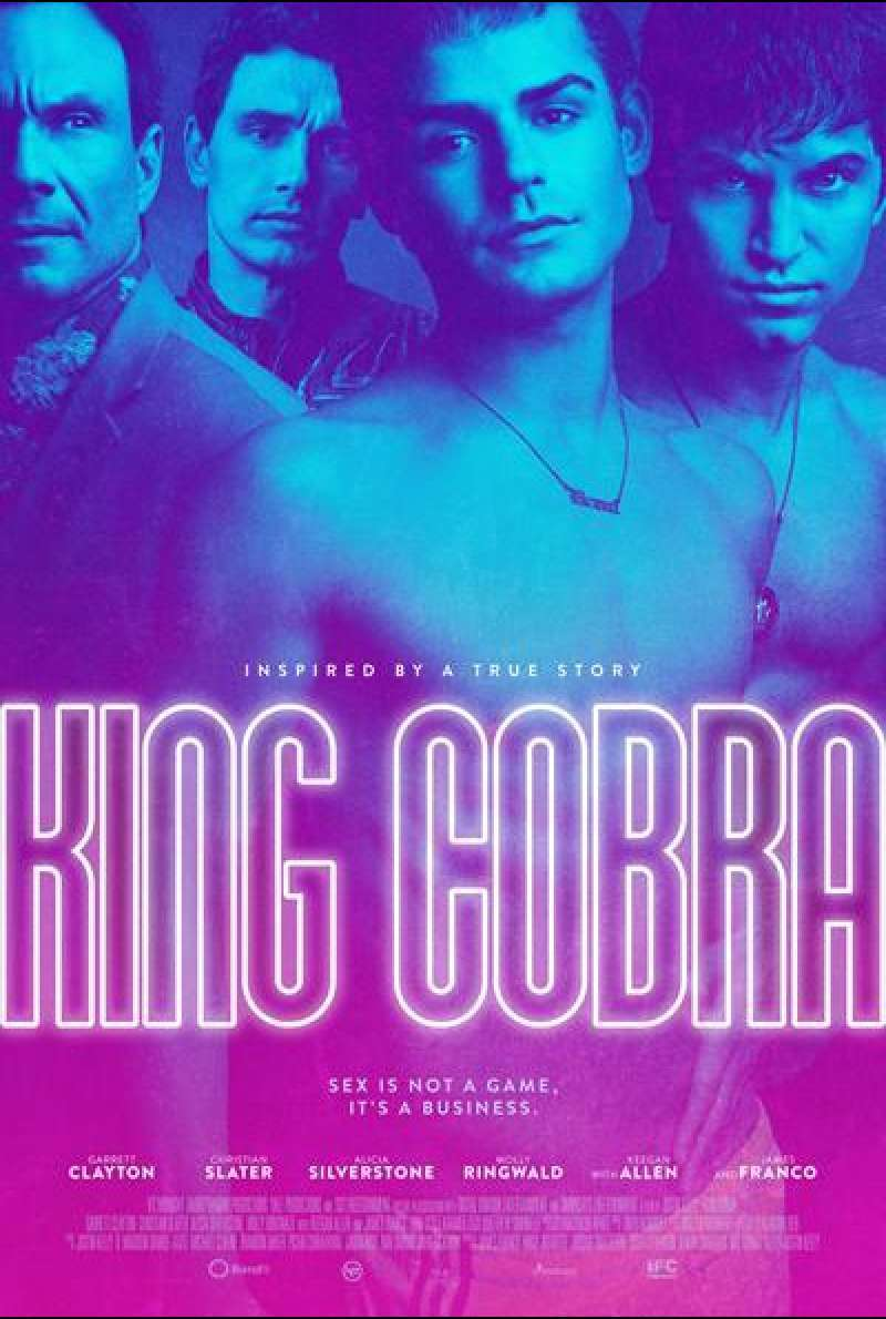 King Cobra von Justin Kelly - Filmplakat