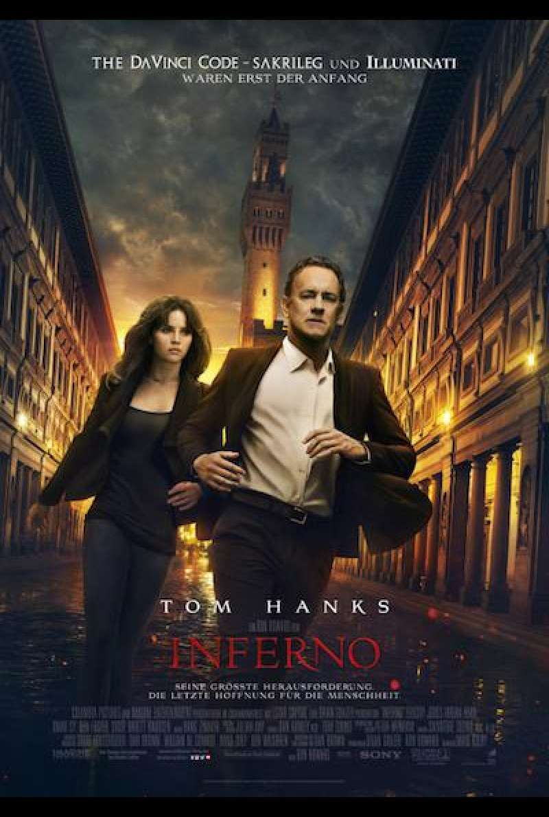 Inferno von Ron Howard - Filmplakat