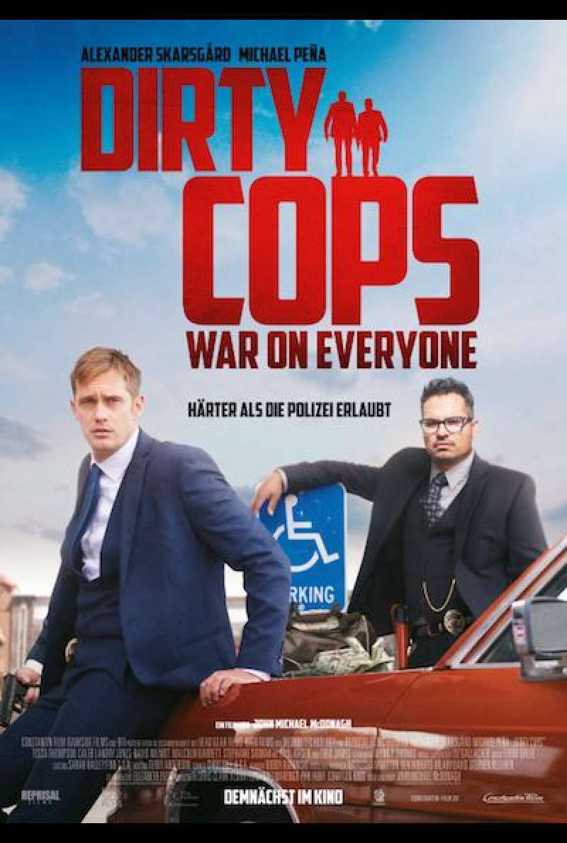 Dirty Cops: War on Everyone - Filmplakat