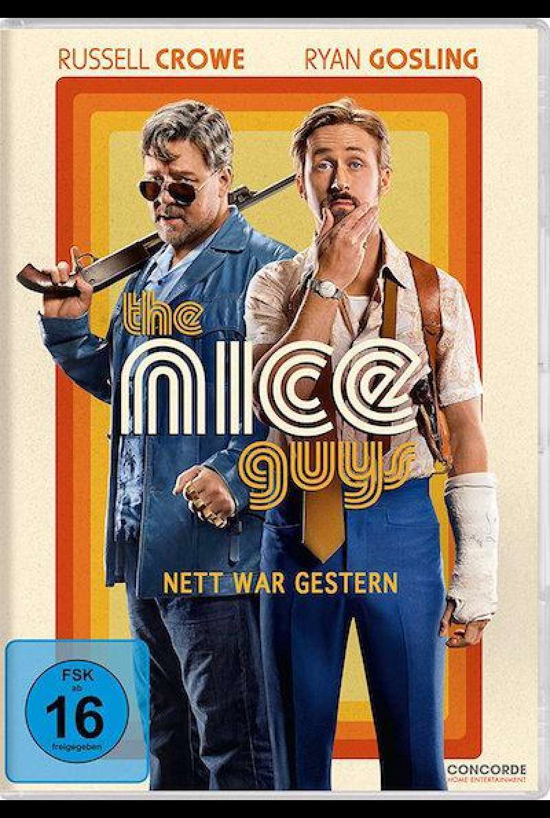 The Nice Guys - Nett war gestern - DVD-Cover
