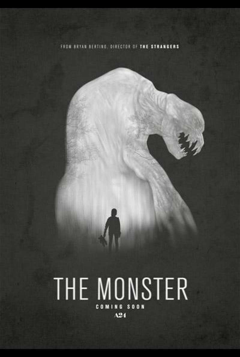 The Monster von Bryan Bertino - Filmplakat