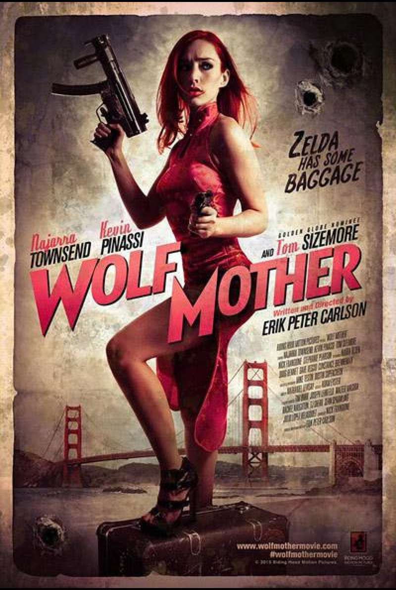 Wolf Mother von Erik Peter Carlson - Filmplakat