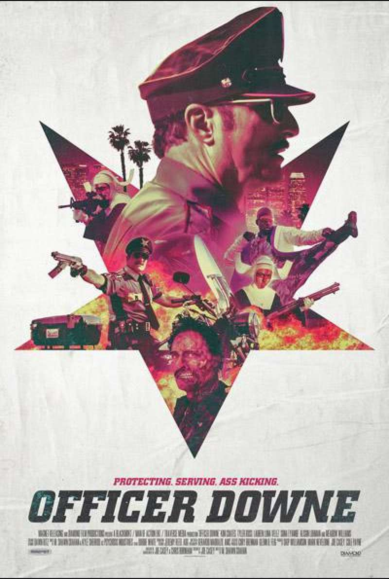 Officer Downe von Shawn Crahan - Filmplakat