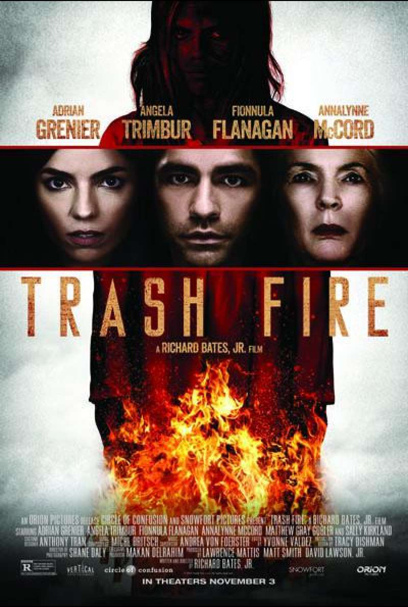 Trash Fire von Richard Bates Jr. - Filmplakat