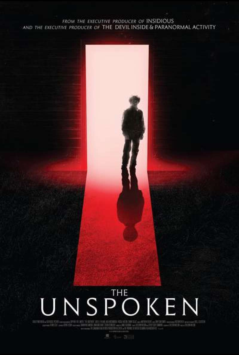 The Unspoken von Sheldon Wilson - Filmplakat