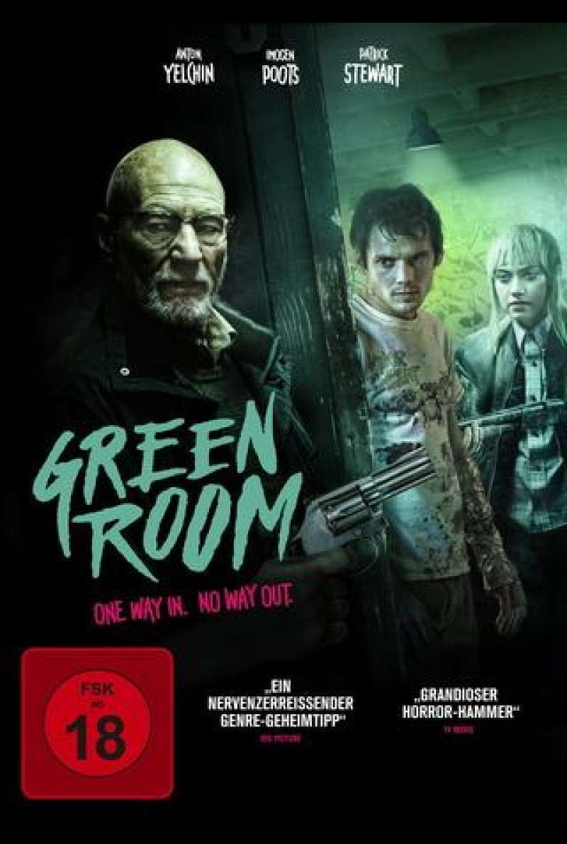 Green Room - One Way In. No Way Out. - DVD-Cover