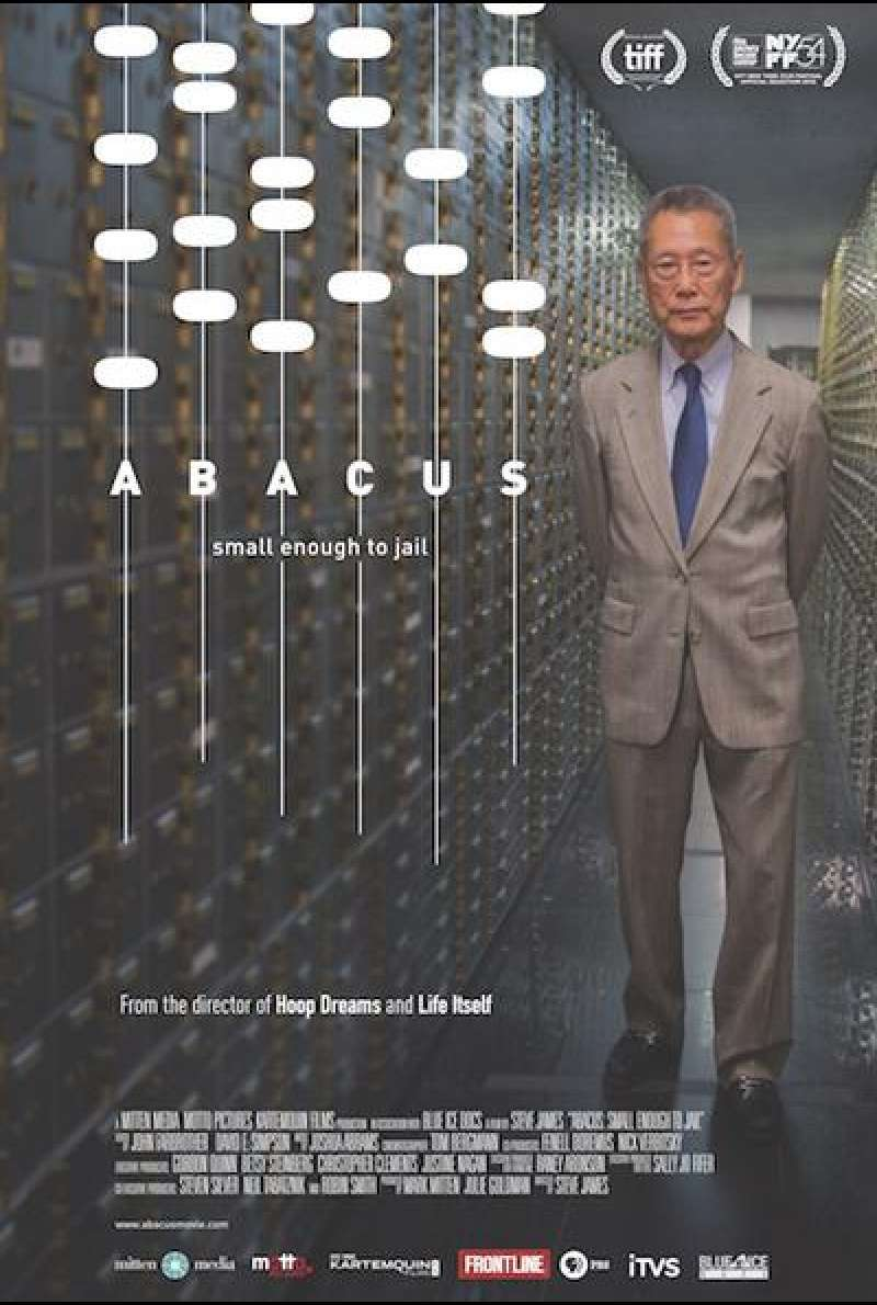 Abacus: Small Enough to Jail von Steve James - Filmplakat