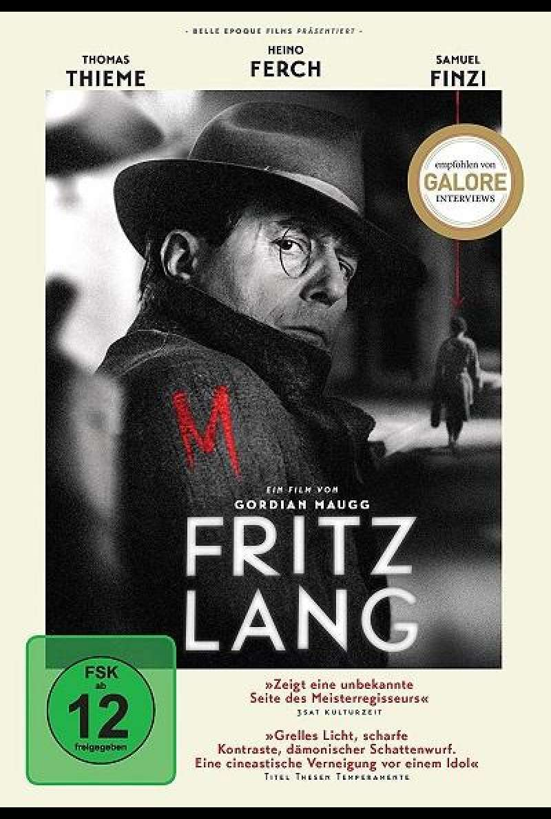 Fritz Lang - DVD-Cover