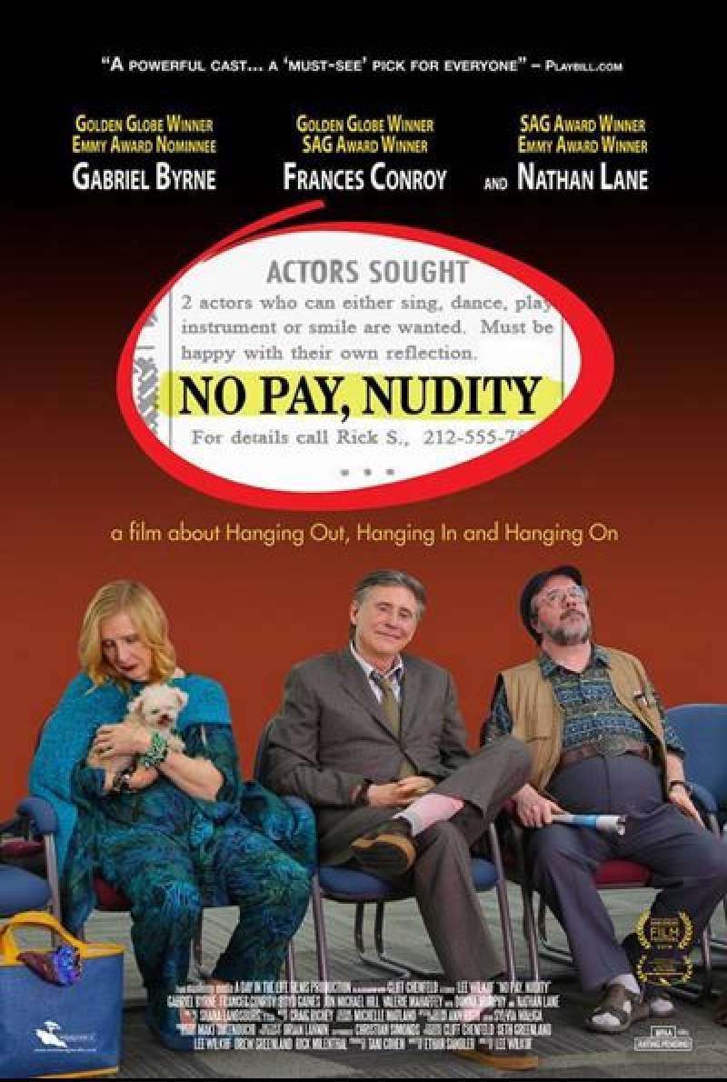 No Pay, Nudity von Lee Wilkof - Filmplakat