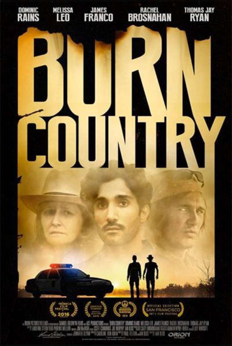 Burn Country von Ian Olds - Filmplakat