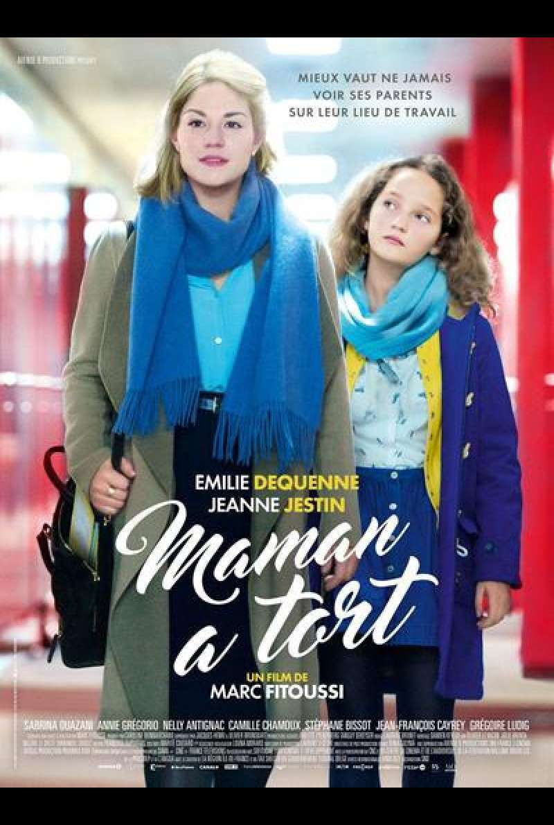 Trainee Day (Maman a tort) von Marc Fitoussi - Filmplakat