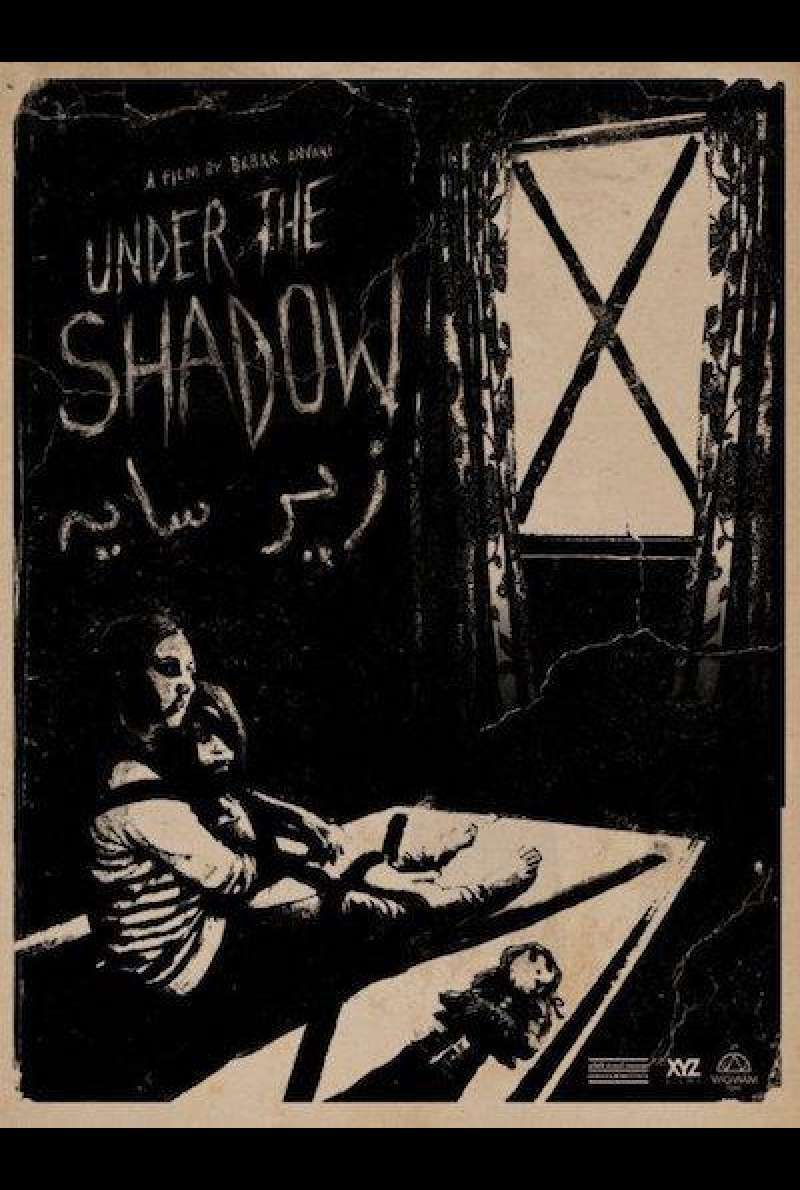 Under the Shadow von Babak Anvari - Filmplakat