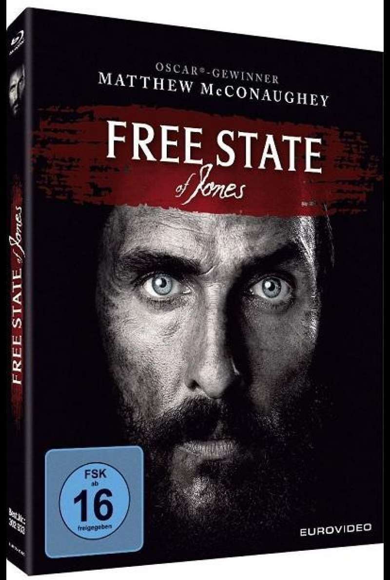 Free State of Jones - Blu-ray-Cover