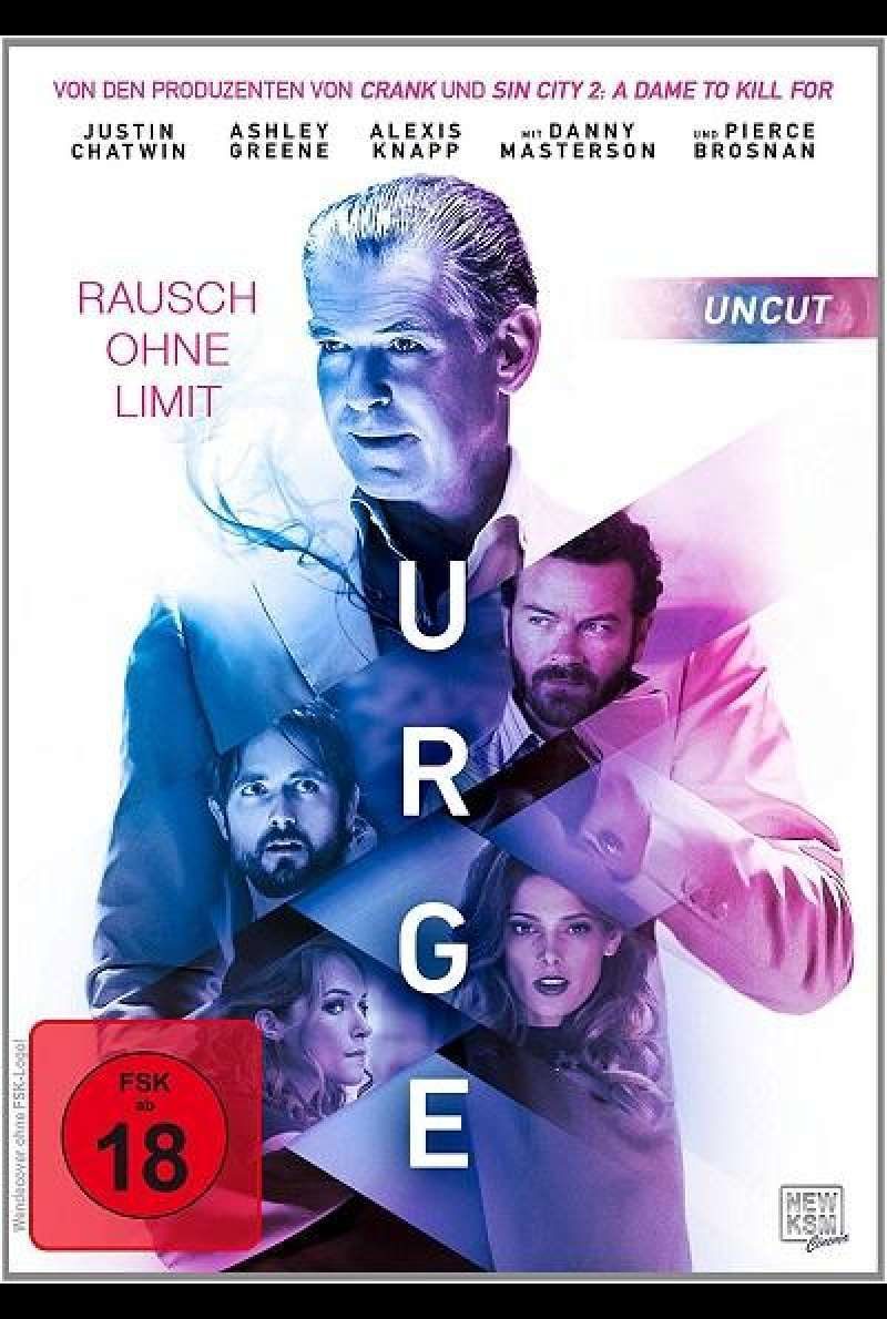 Urge - Rausch ohne Limit - DVD-Cover