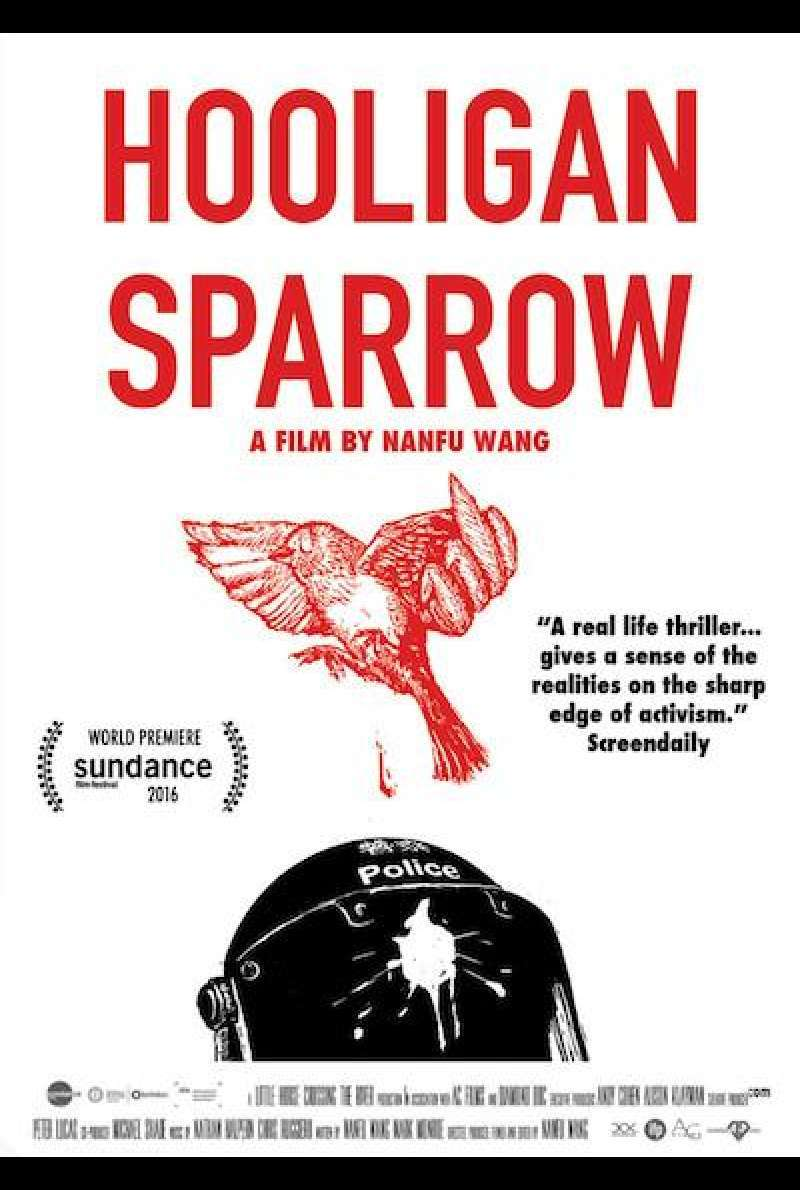 Hooligan Sparrow - Filmplakat (US)