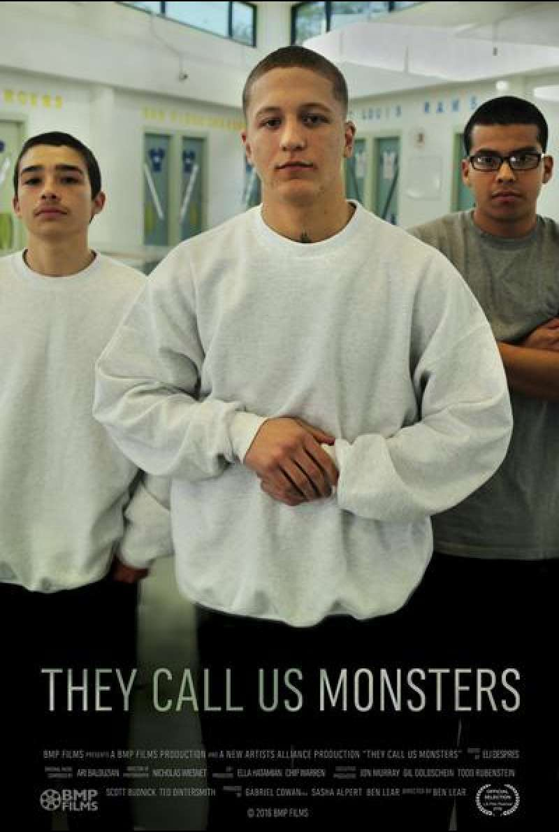 They Call Us Monsters von Ben Lear - Filmplakat