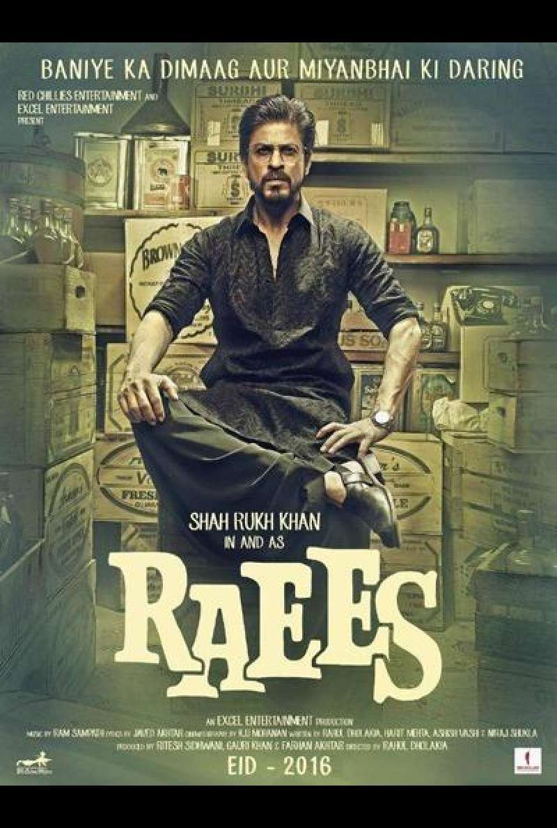Raees - Filmplakat (IN)