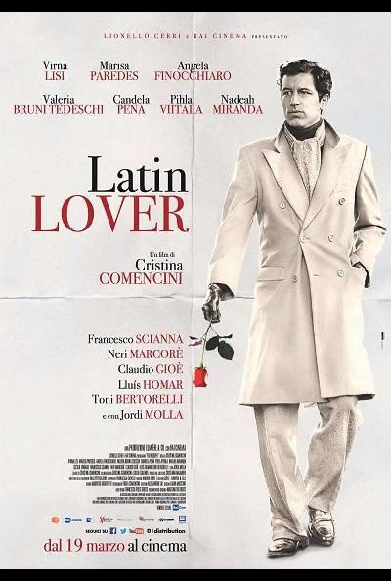 Latin Lover - Filmplakat (INT)