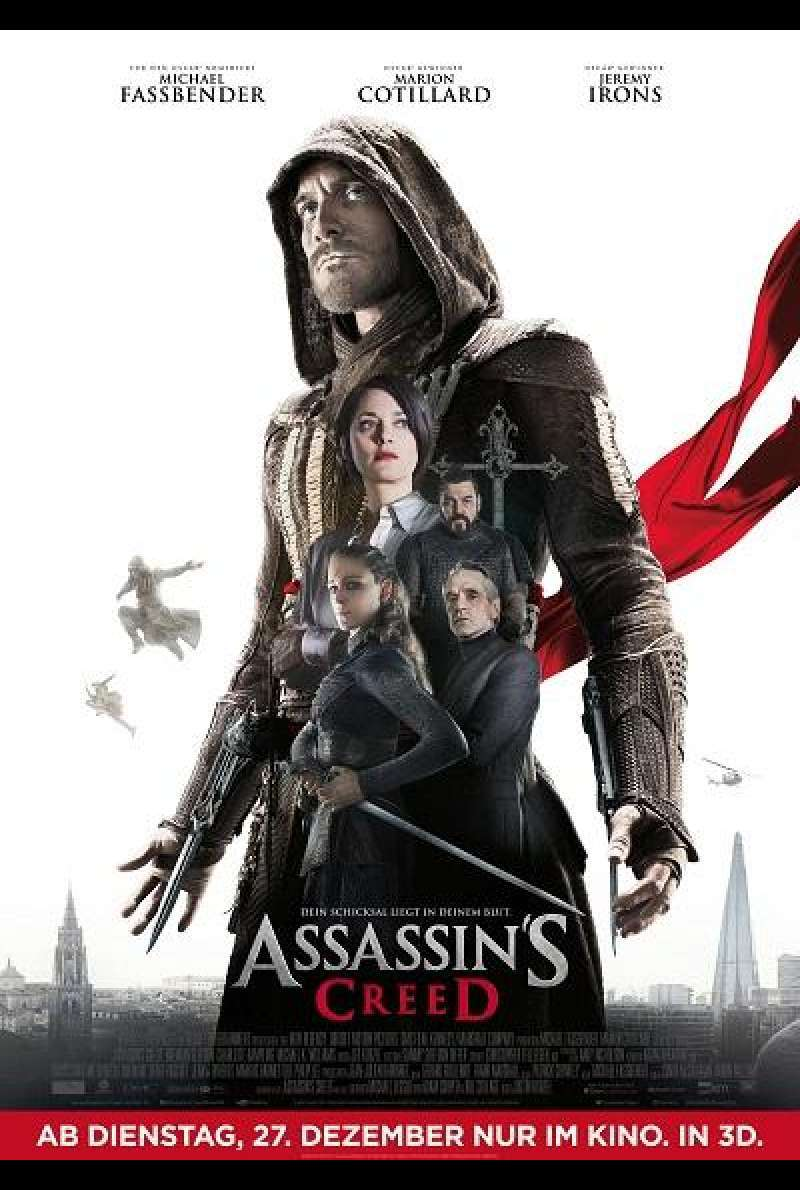 Assassin's Creed - Filmplakat