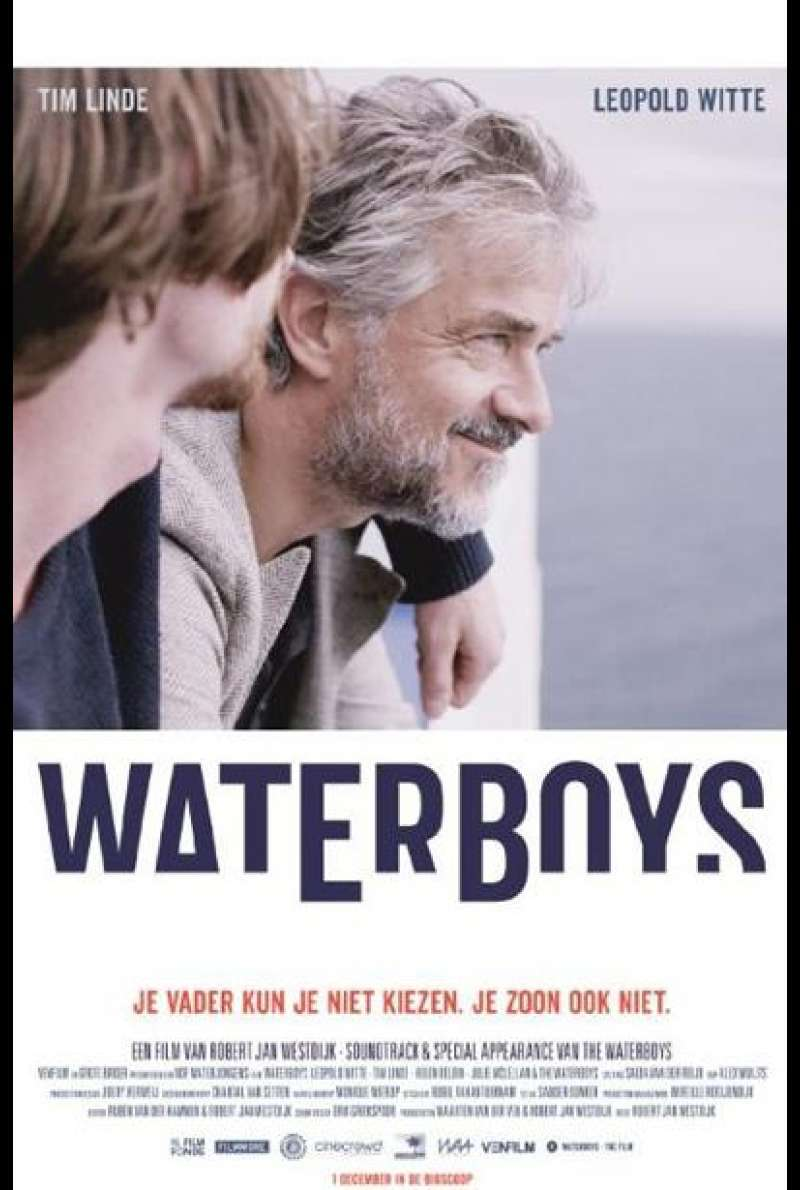 Waterboys von Robert Jan Westdijk - Filmplakat