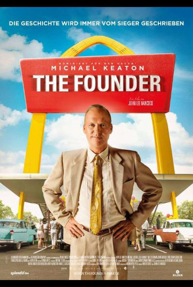 The Founder von John Lee Hancock - Filmplakat