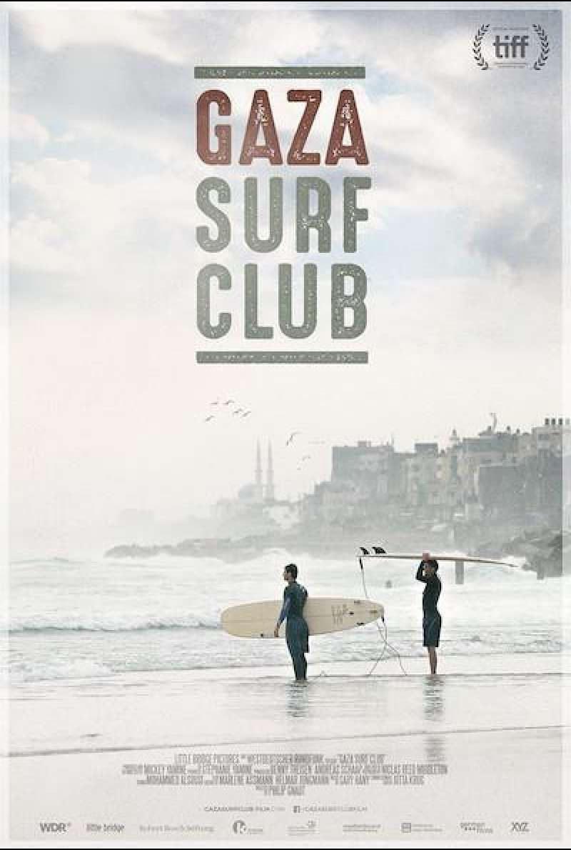 Gaza Surf Club - Filmplakat