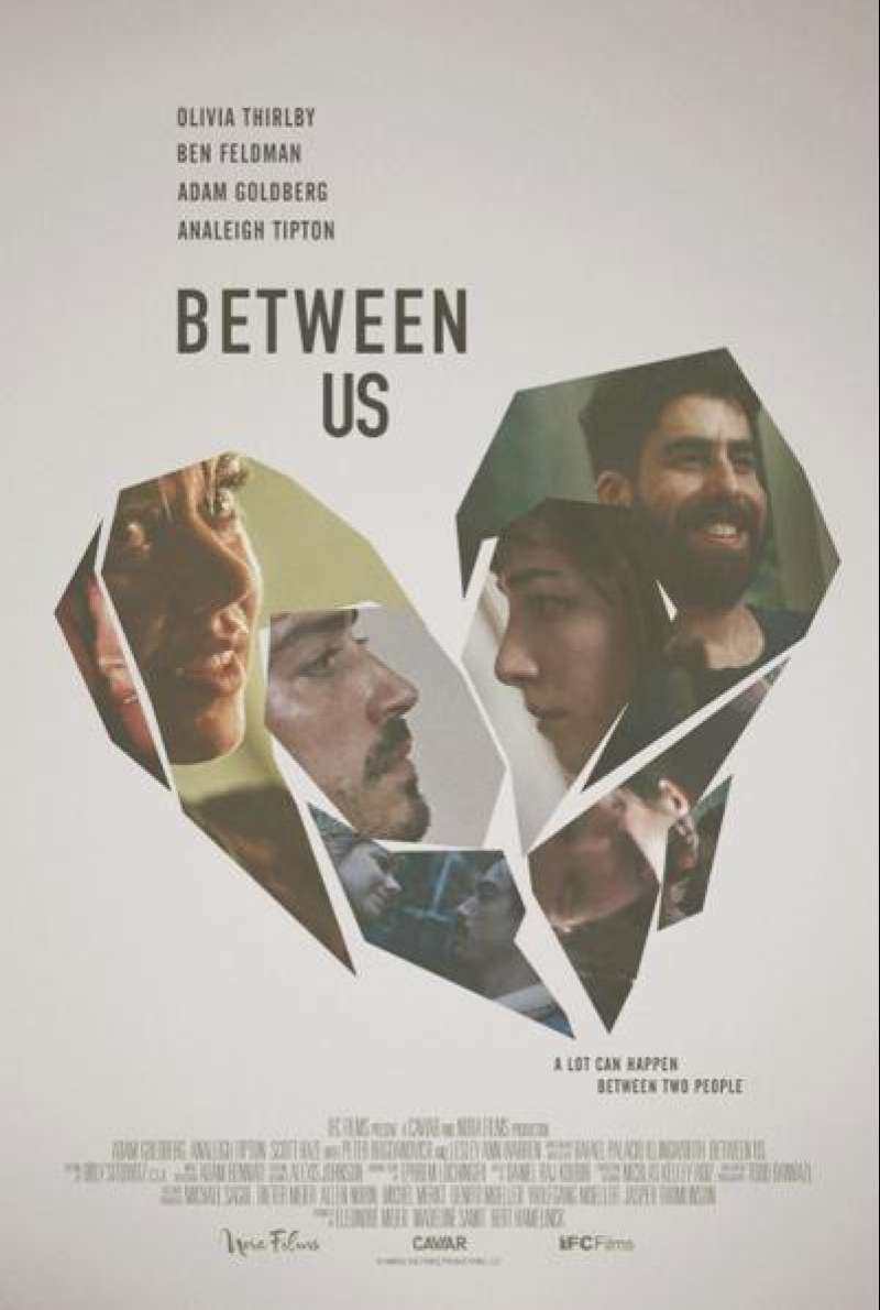 Between Us von Rafael Palacio Illingworth - Filmplakat