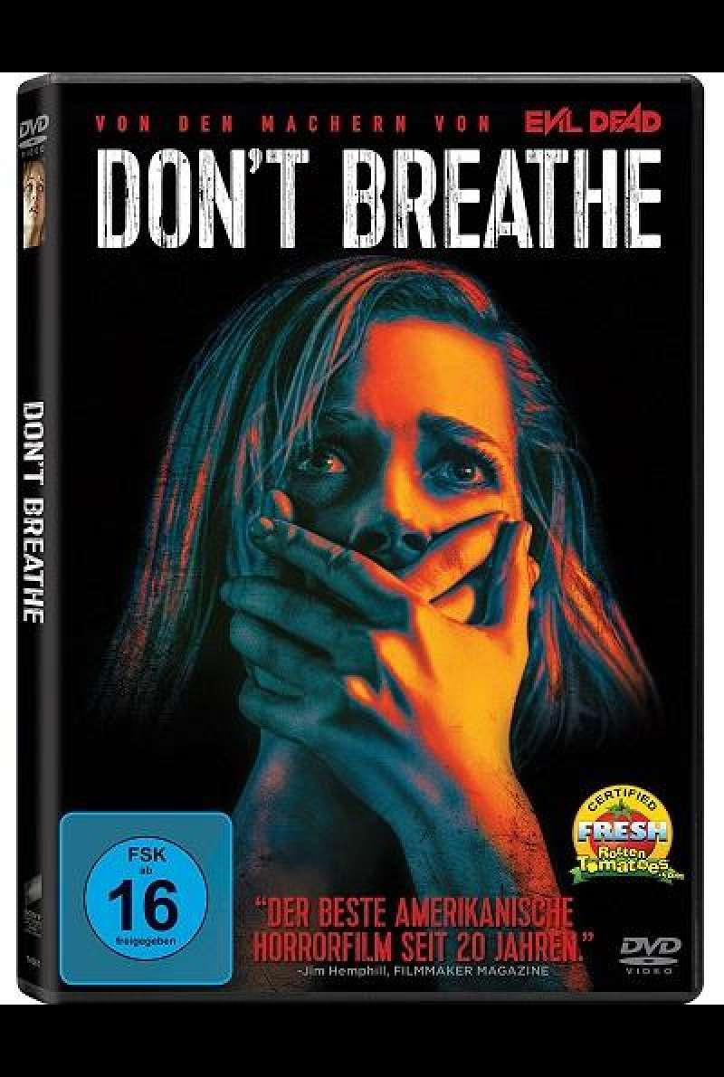 Don't Breathe - DVD-Cover