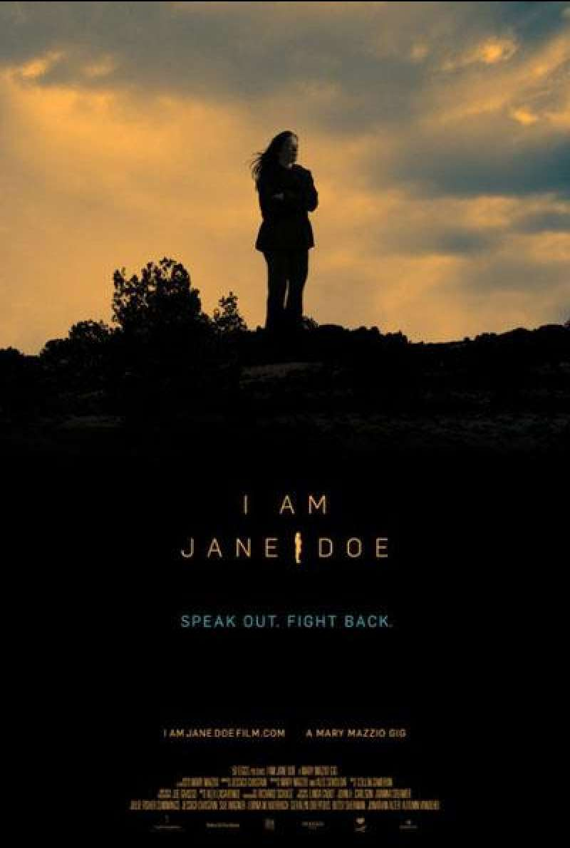 I am Jane Doe von Mary Mazzio - Filmplakat