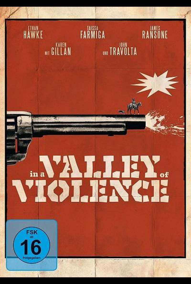 In a Valley of Violence - DVD-Cover