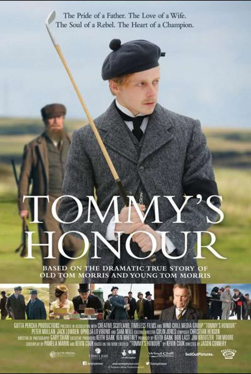 Tommy's Honour von Jason Connery - Filmplakat