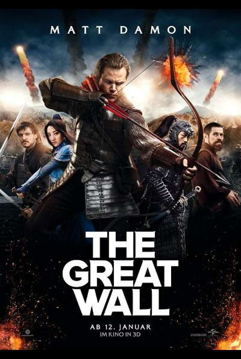 The Great Wall - Filmplakat