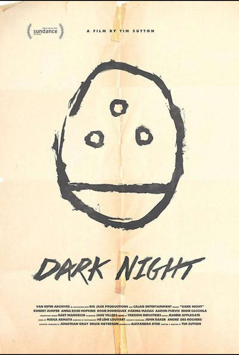Dark Night von Tim Sutton - Filmplakat (US)