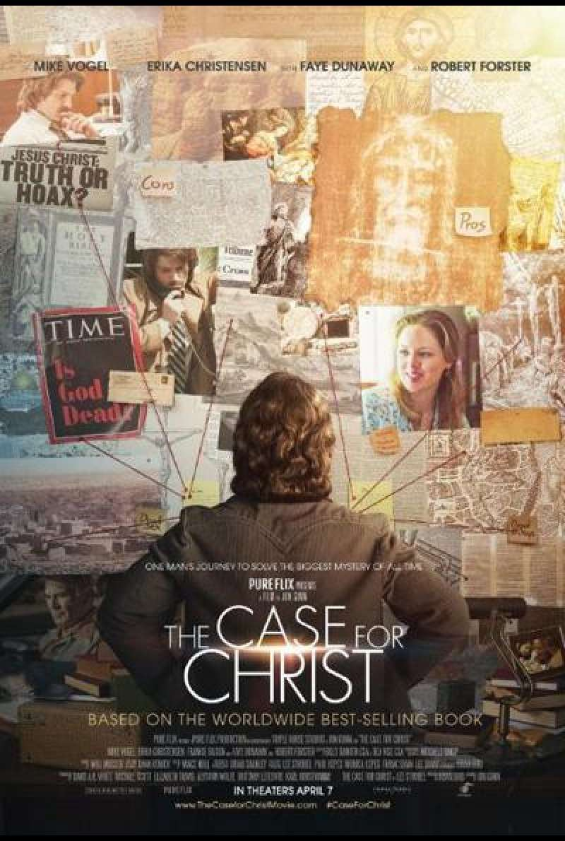 The Case for Christ von Jon Gunn - Filmplakat
